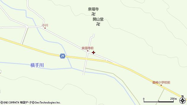 大分県国東市国東町横手周辺の地図