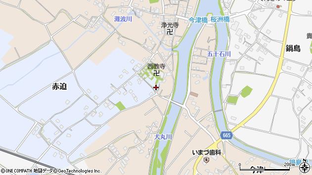 大分県中津市赤迫142周辺の地図
