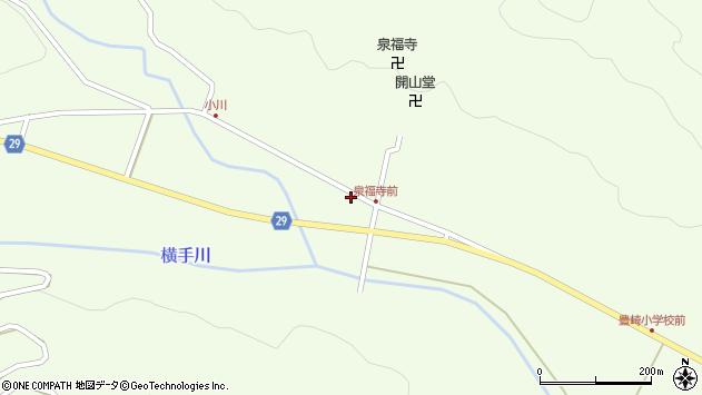 大分県国東市国東町横手1701周辺の地図
