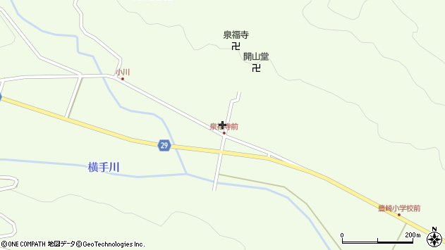 大分県国東市国東町横手1854周辺の地図