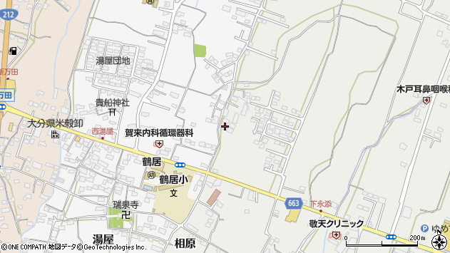 大分県中津市相原3765周辺の地図