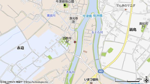 大分県中津市今津632周辺の地図
