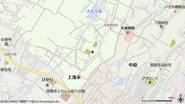 大分県中津市上池永131周辺の地図
