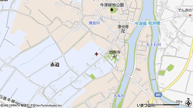 大分県中津市赤迫174周辺の地図