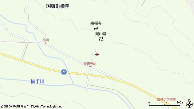 大分県国東市国東町横手1841周辺の地図