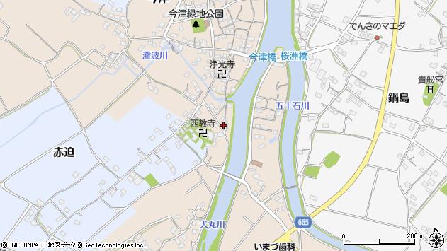 大分県中津市今津589周辺の地図