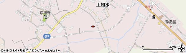 大分県中津市上如水1578周辺の地図