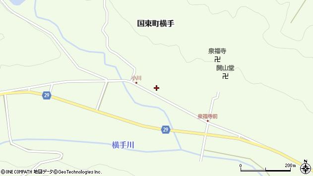 大分県国東市国東町横手2138周辺の地図