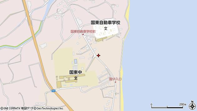 大分県国東市国東町田深1239周辺の地図