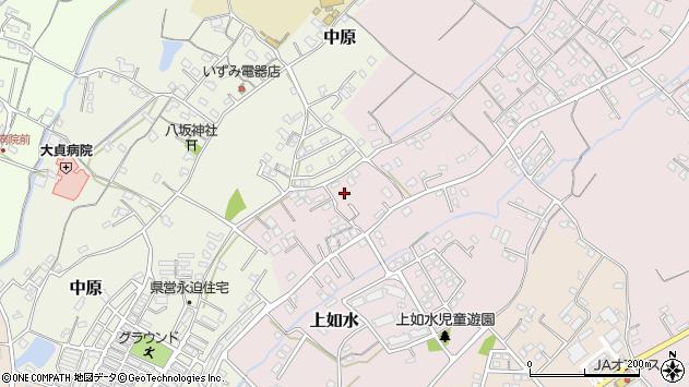 大分県中津市上如水640周辺の地図