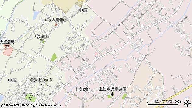 大分県中津市上如水634周辺の地図