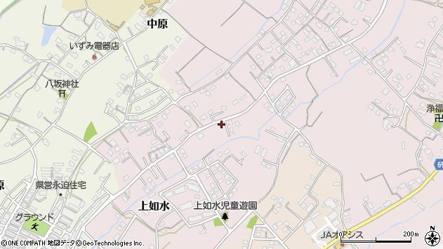 大分県中津市上如水703周辺の地図