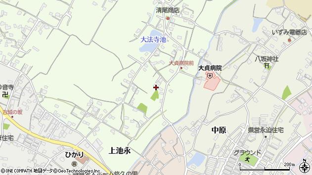 大分県中津市上池永141周辺の地図