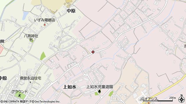 大分県中津市上如水630周辺の地図