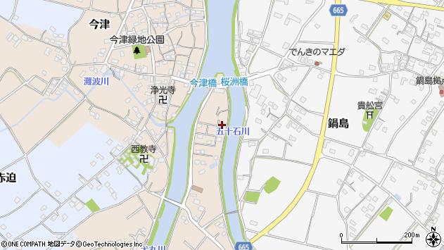 大分県中津市今津191周辺の地図