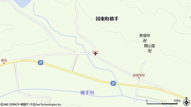 大分県国東市国東町横手2127周辺の地図