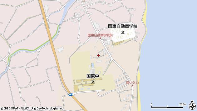 大分県国東市国東町田深1553周辺の地図