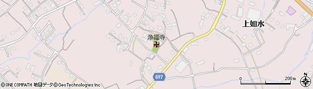 大分県中津市上如水1505周辺の地図