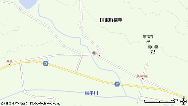 大分県国東市国東町横手2071周辺の地図