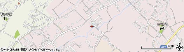 大分県中津市上如水713周辺の地図