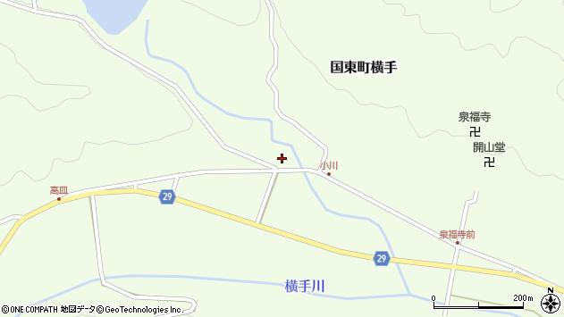大分県国東市国東町横手2572周辺の地図