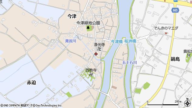 大分県中津市今津559周辺の地図