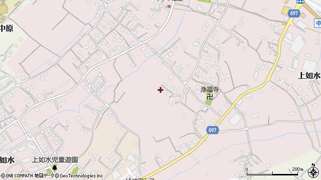 大分県中津市上如水1223周辺の地図