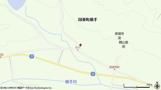 大分県国東市国東町横手2125周辺の地図