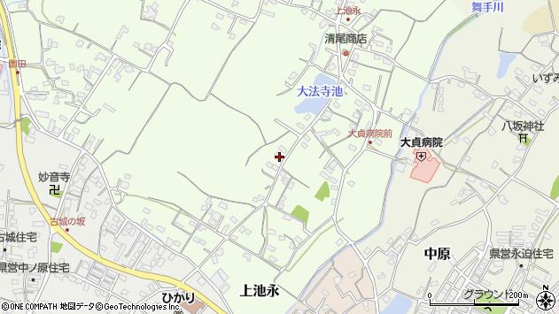 大分県中津市上池永105周辺の地図