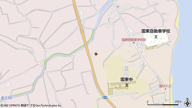 大分県国東市国東町北江4016周辺の地図