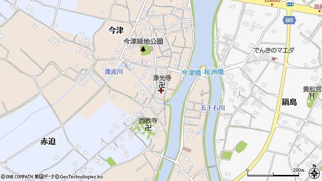 大分県中津市今津587周辺の地図