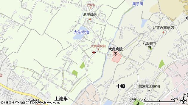 大分県中津市上池永146周辺の地図
