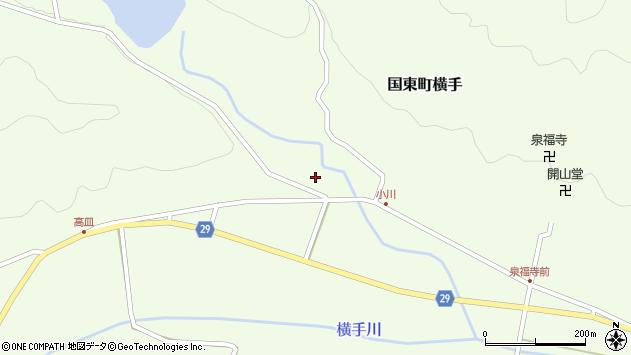 大分県国東市国東町横手2571周辺の地図