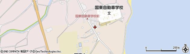 大分県国東市国東町田深1535周辺の地図