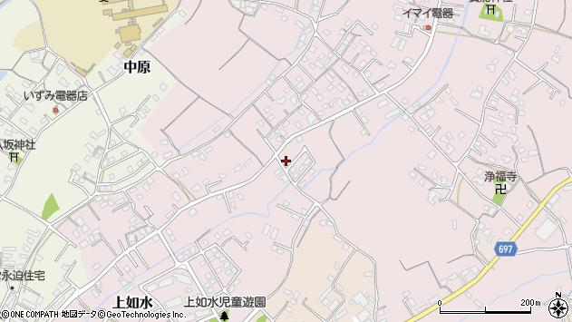 大分県中津市上如水717周辺の地図
