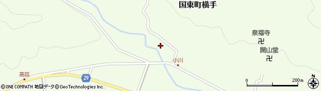 大分県国東市国東町横手2082周辺の地図