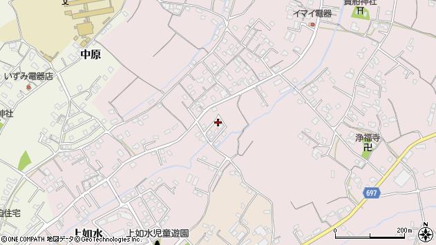 大分県中津市上如水781周辺の地図