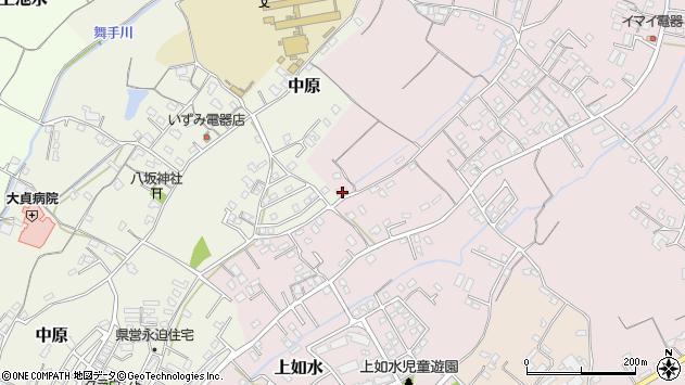 大分県中津市上如水321周辺の地図