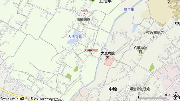 大分県中津市上池永153周辺の地図