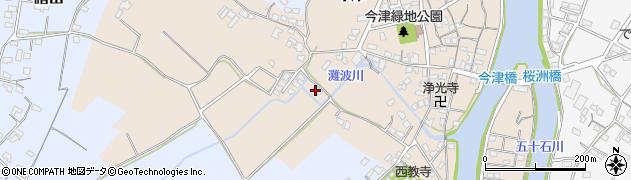 大分県中津市今津500周辺の地図