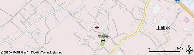 大分県中津市上如水1158周辺の地図
