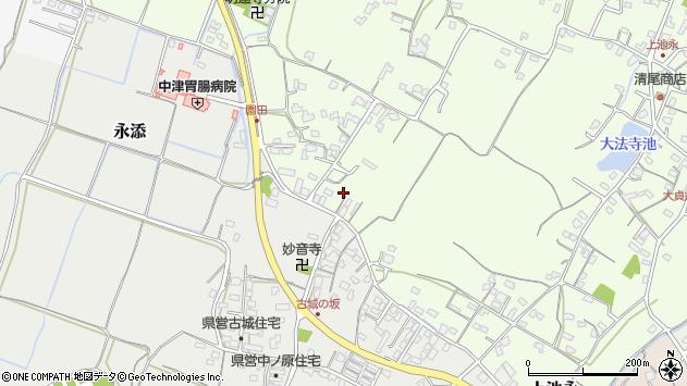 大分県中津市上池永617周辺の地図