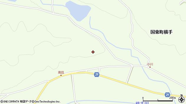 大分県国東市国東町横手馬爪周辺の地図