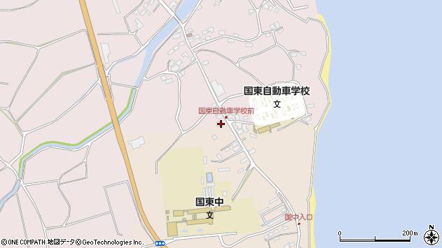 大分県国東市国東町田深1532周辺の地図
