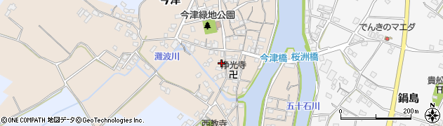 大分県中津市今津549周辺の地図