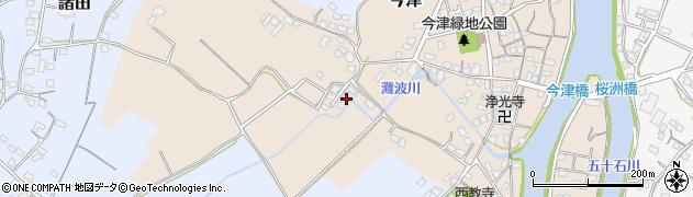 大分県中津市今津356周辺の地図