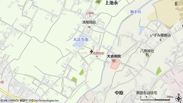 大分県中津市上池永161周辺の地図