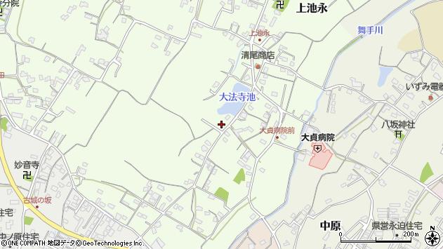 大分県中津市上池永107周辺の地図