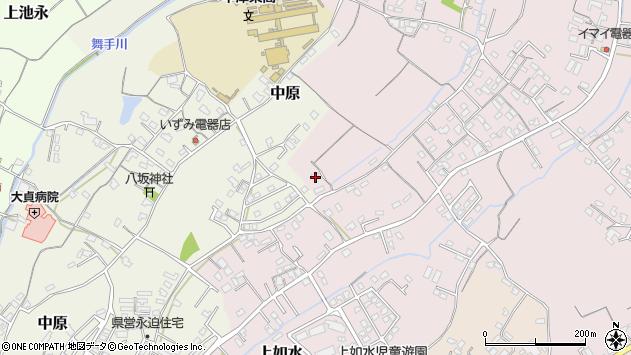 大分県中津市上如水320周辺の地図