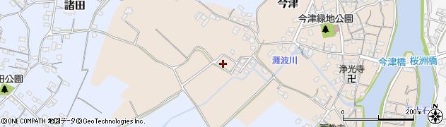 大分県中津市今津470周辺の地図
